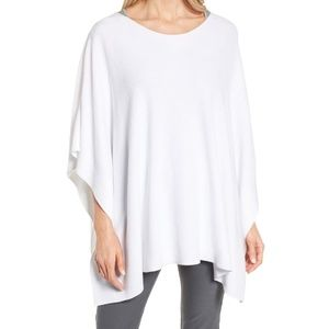 Nwt EILEEN FISHER Organic Cotton Poncho Sweater